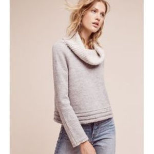 Anthro Sleeping on Snow Wool Meribel Sweater NWOT